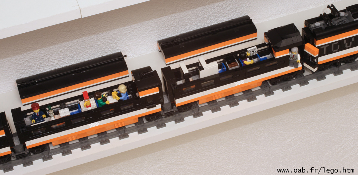 wagons TGV Lego