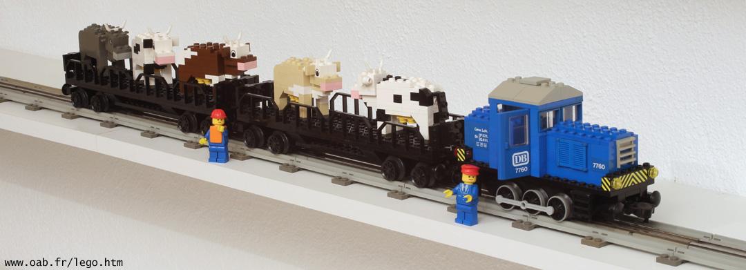 Train Lego 7760