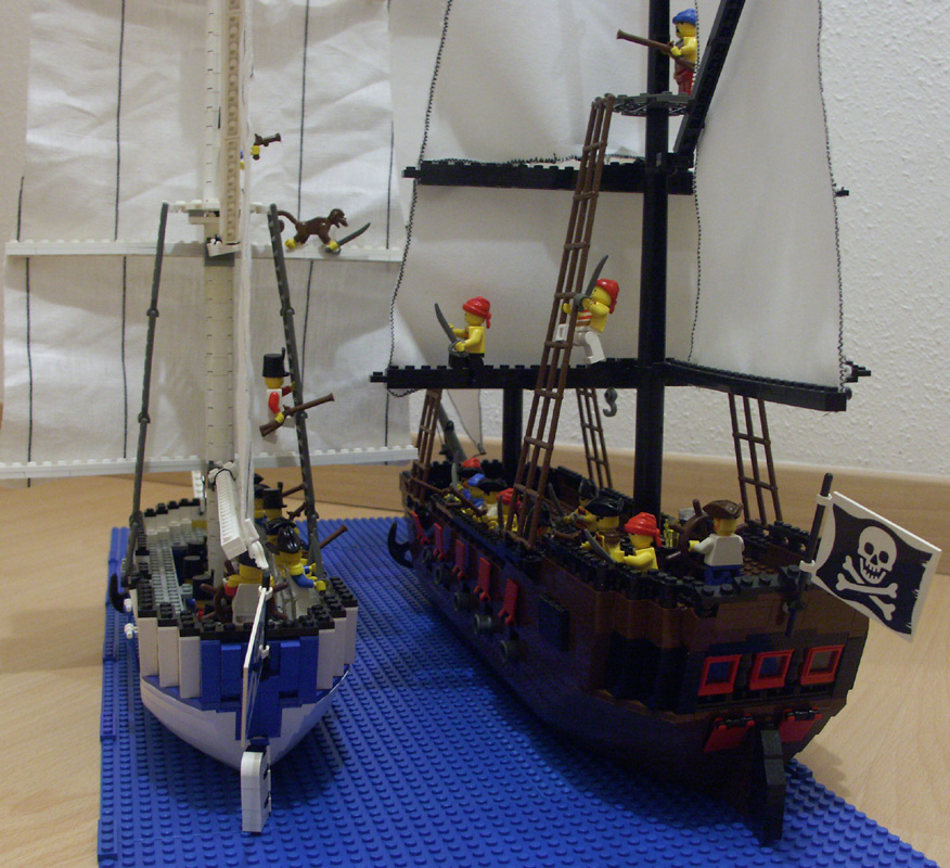 santogold bateau du gouverneur construction lego. Black Bedroom Furniture Sets. Home Design Ideas