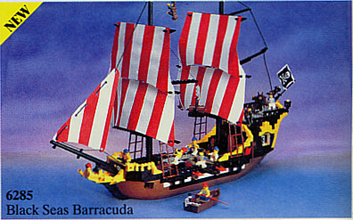 Santa Desperanza Bateau Pirate Construction Lego