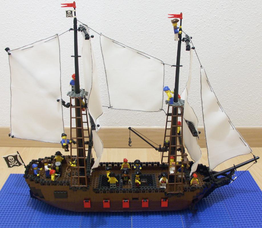 Santa desperanza bateau pirate construction lego - Image bateau pirate ...