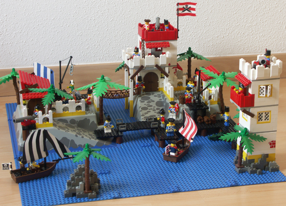 Pirates mocs pirate mocs eurobricks forums - Ile pirate lego ...