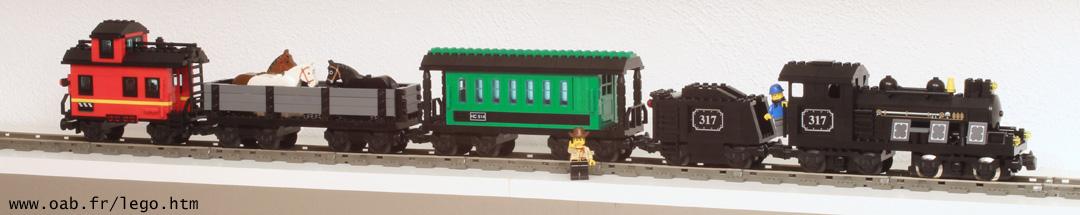 My Own Train Lego