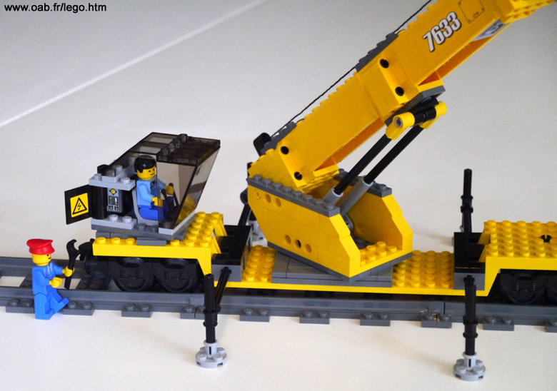 train lego wagon grue avec les briques des bo tes 7898. Black Bedroom Furniture Sets. Home Design Ideas