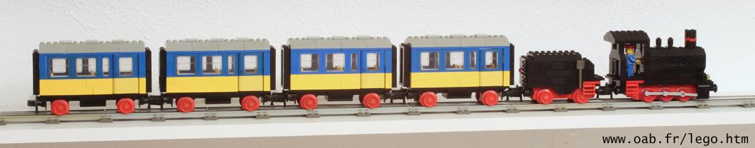 Train Lego 7710