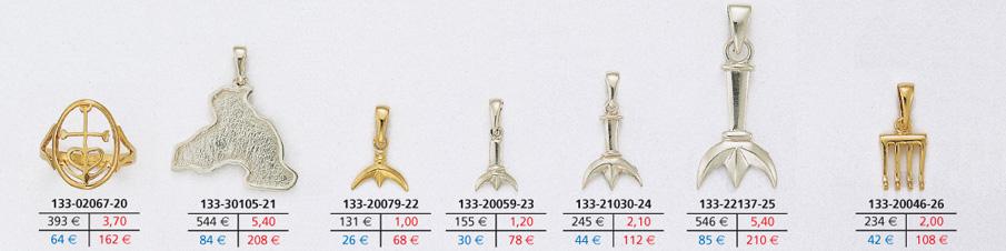 823b96de7305 Référence 133-02067-20 croix largeur 11 mm x hauteur 16 mm prix en or   393  € prix en or à façon   162 € + 3,70 g. prix en argent   64 €