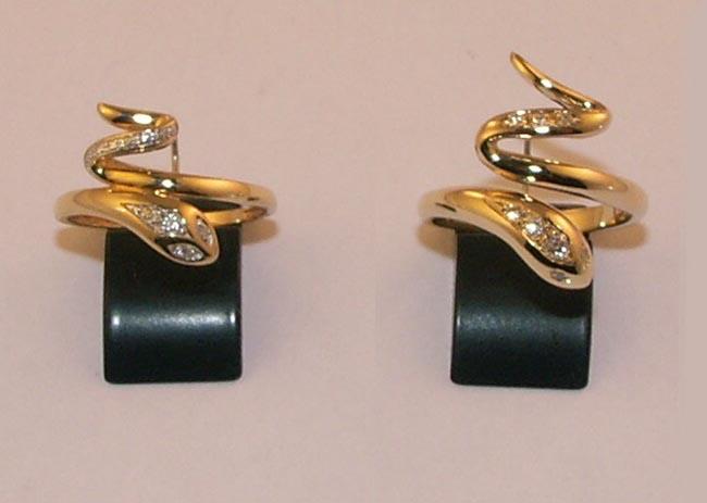 re fabrication bague serpent or et diamants pour la bijouterie rupp hagondange. Black Bedroom Furniture Sets. Home Design Ideas